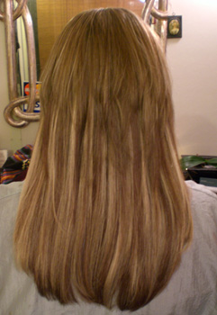 Calliope with extensions before blended cut