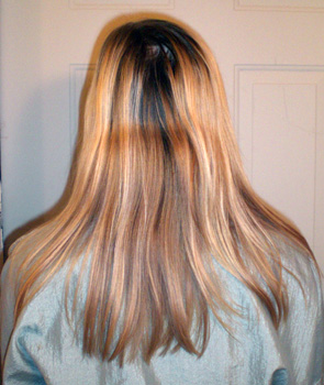 Chrysalis before extensions and color
